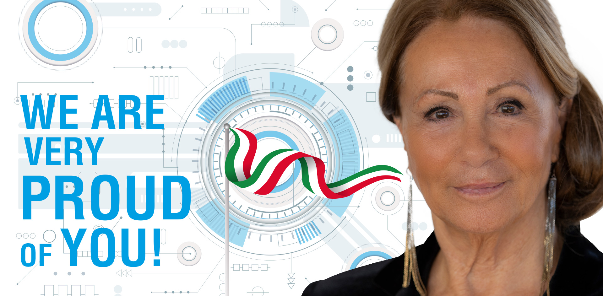 Grazia Valentini Scagliarini, President of the GVS S.p.A. Group