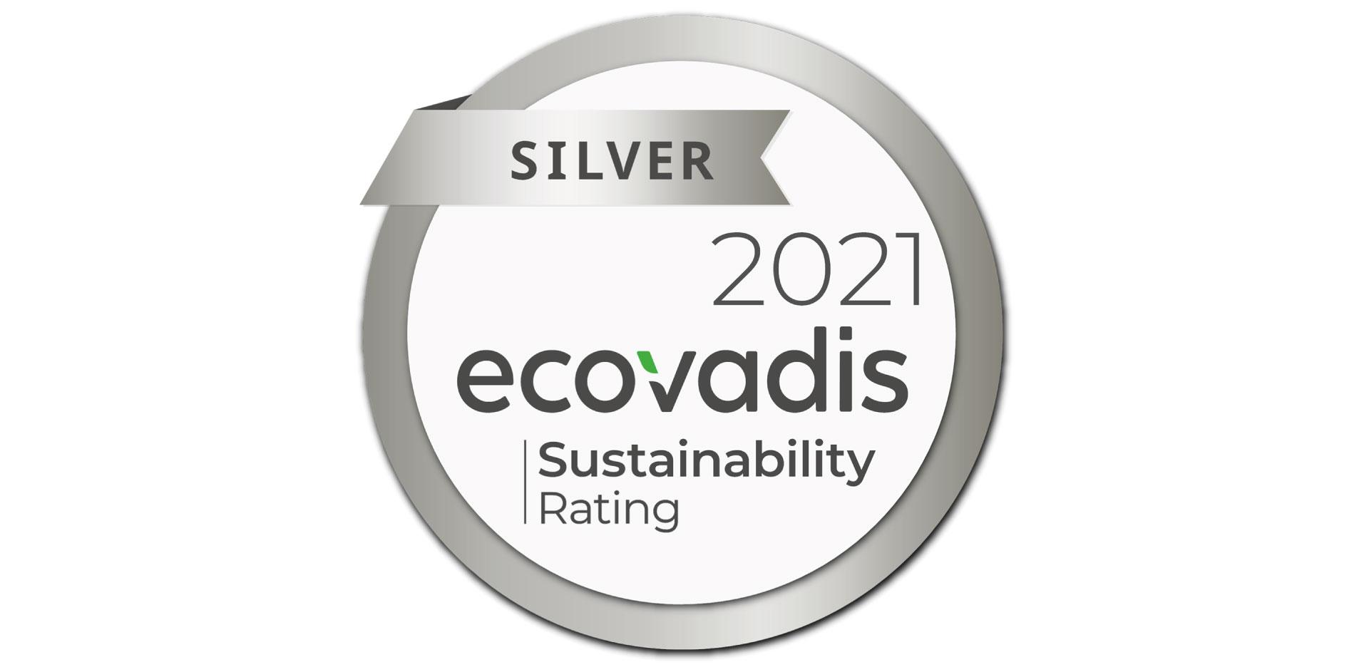 Silver Medal EcoVadis