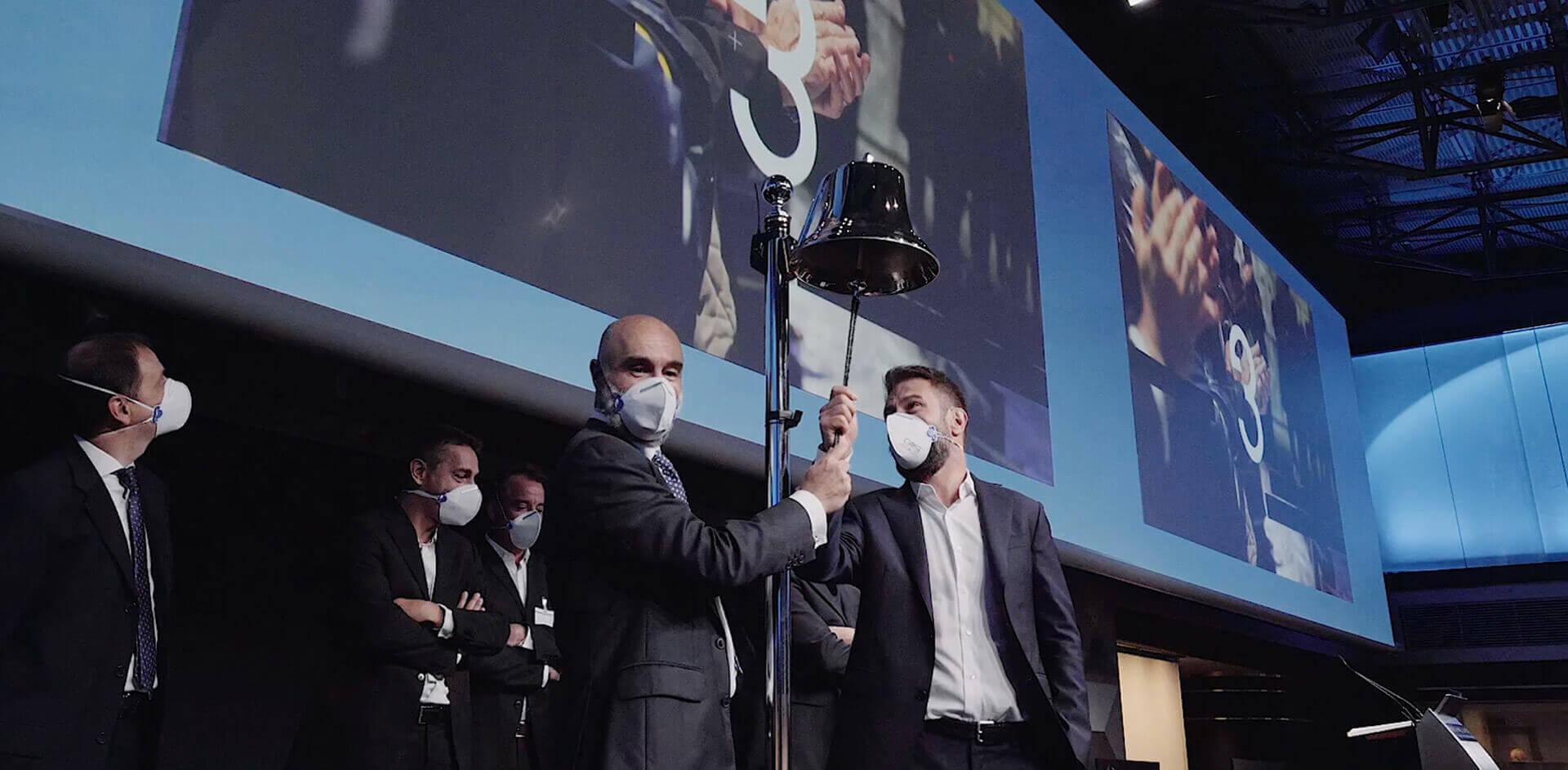 GVS IPO Ceremony at Borsa Italiana