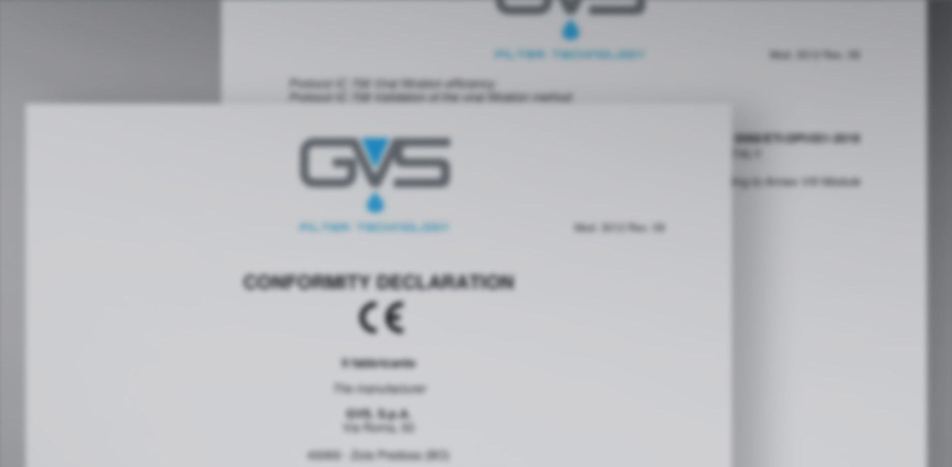 Declarations of Conformity CE Healthcare