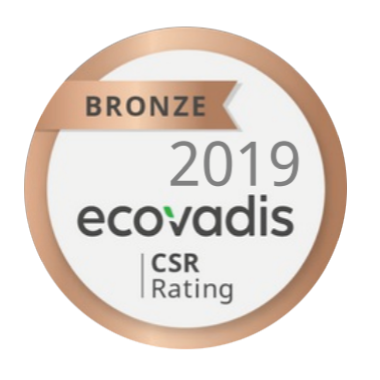 Ecovadis CSR Ranting- Bronze