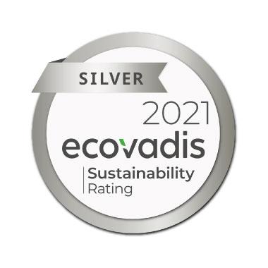Ecovadis CSR Ranting- Silver