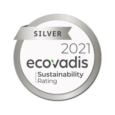 Ecovadis CSR Rating Silver