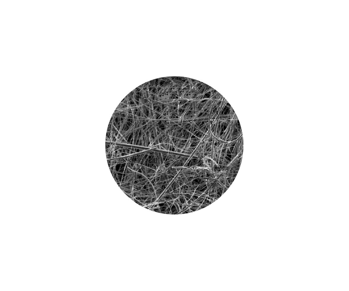 Membrana in fibra di vetro - senza legante, immagine 1