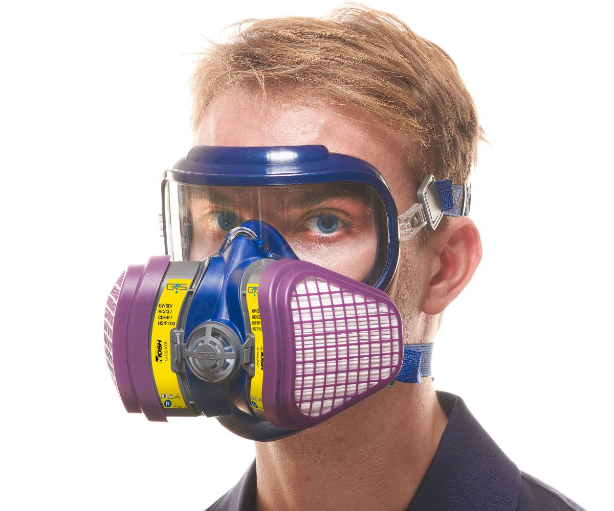 OV AG P100 Elipse Integra NIOSH Respirator, image 2