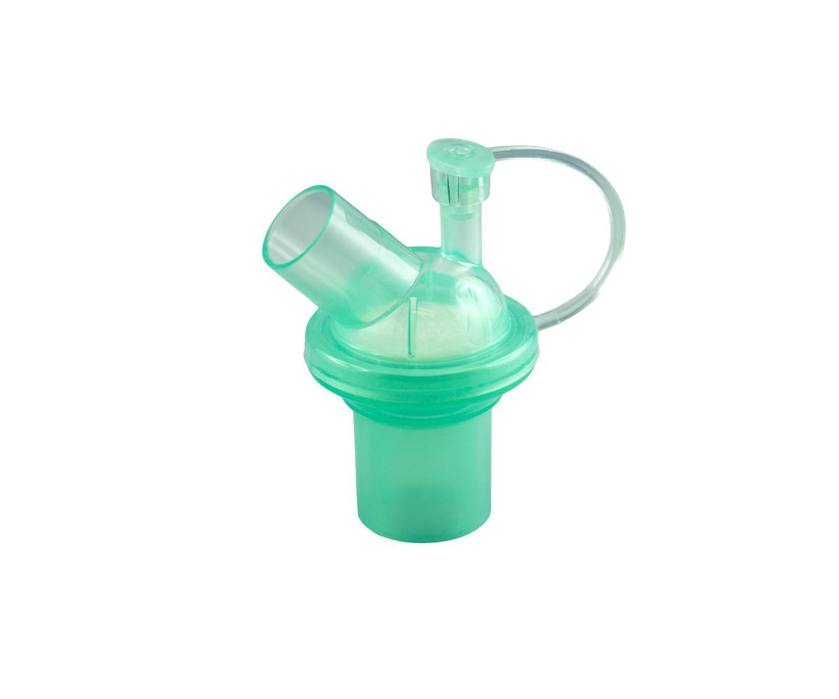 Filtro elettrostatico neonatale, angolato, con porta di campionamento, immagine 1