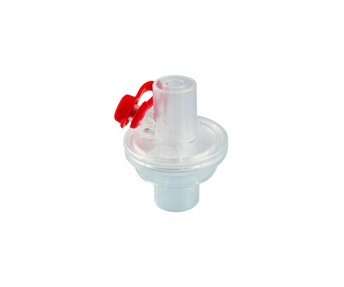 Neonatal electrostatic filter with sampling port, image 1