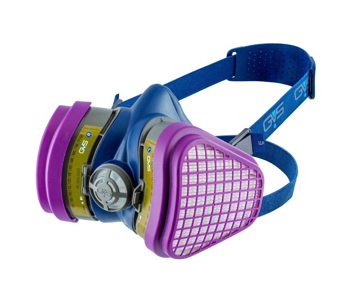 Elipse® P100 Multigas NIOSH Respirator, image 1