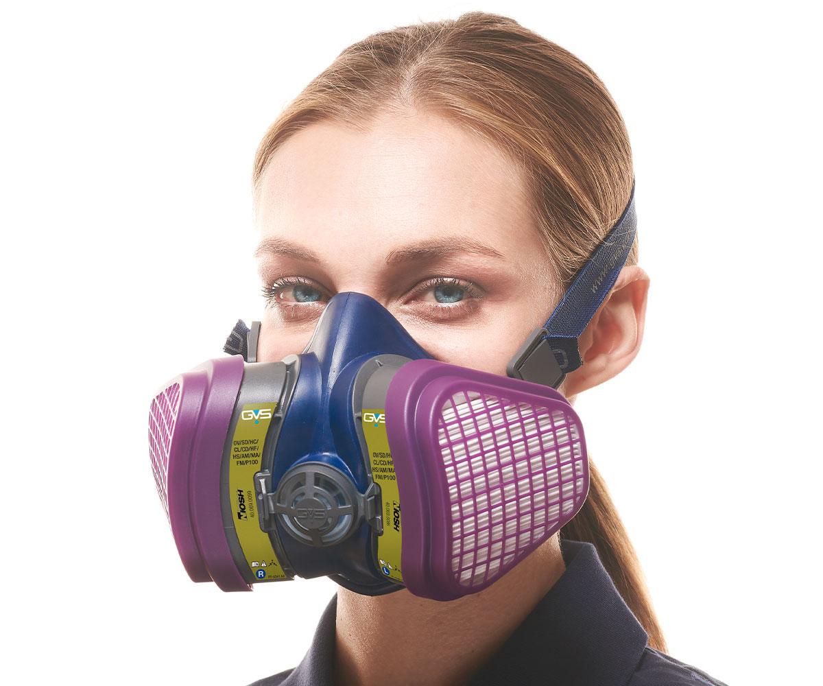 Elipse® P100 Multigas NIOSH Respirator, image 3