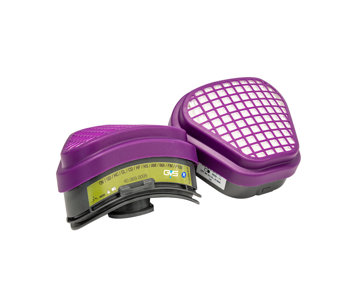 Elipse® P100 Multigas NIOSH Respirator, image 2