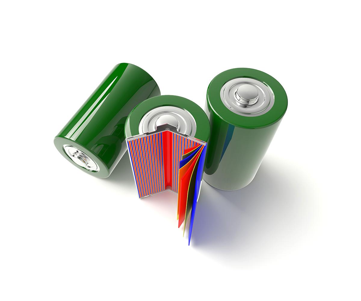 Separatore per le celle delle batterie, immagine 1