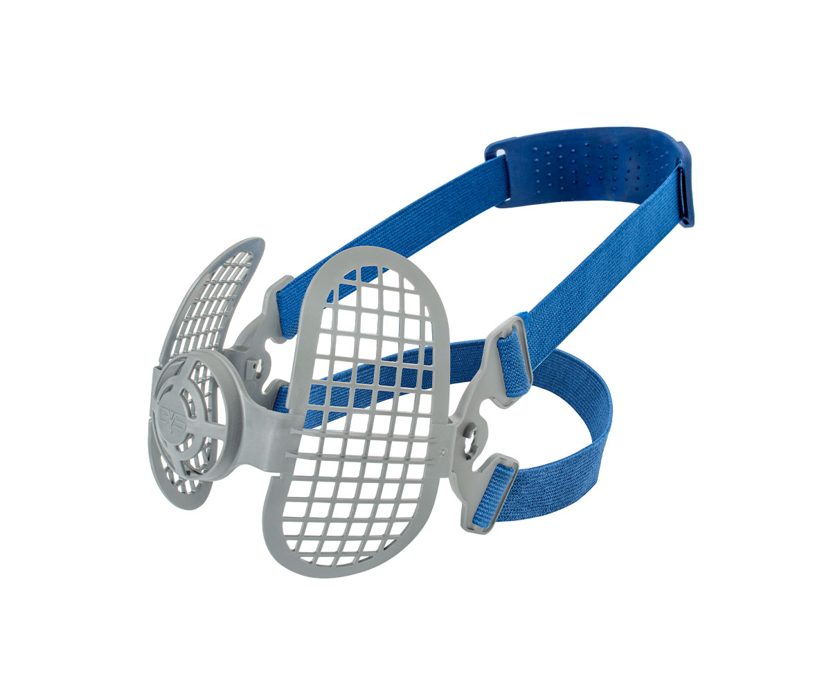 SPM558 Elipse Mask Particulate Strap Support Assembly, image 1