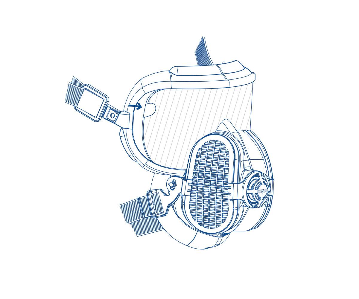 SPM520 Pellicole per visiera per Integra, immagine 2