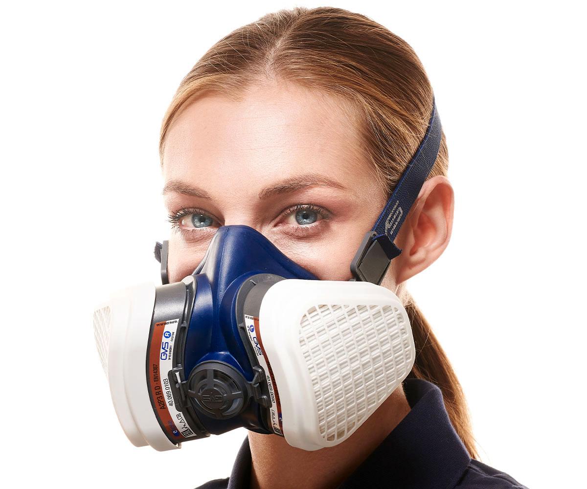 SPR497 Coppia di Filtri di ricambio A2P3 per Gas Organici, Vapori e Polveri, immagine 2