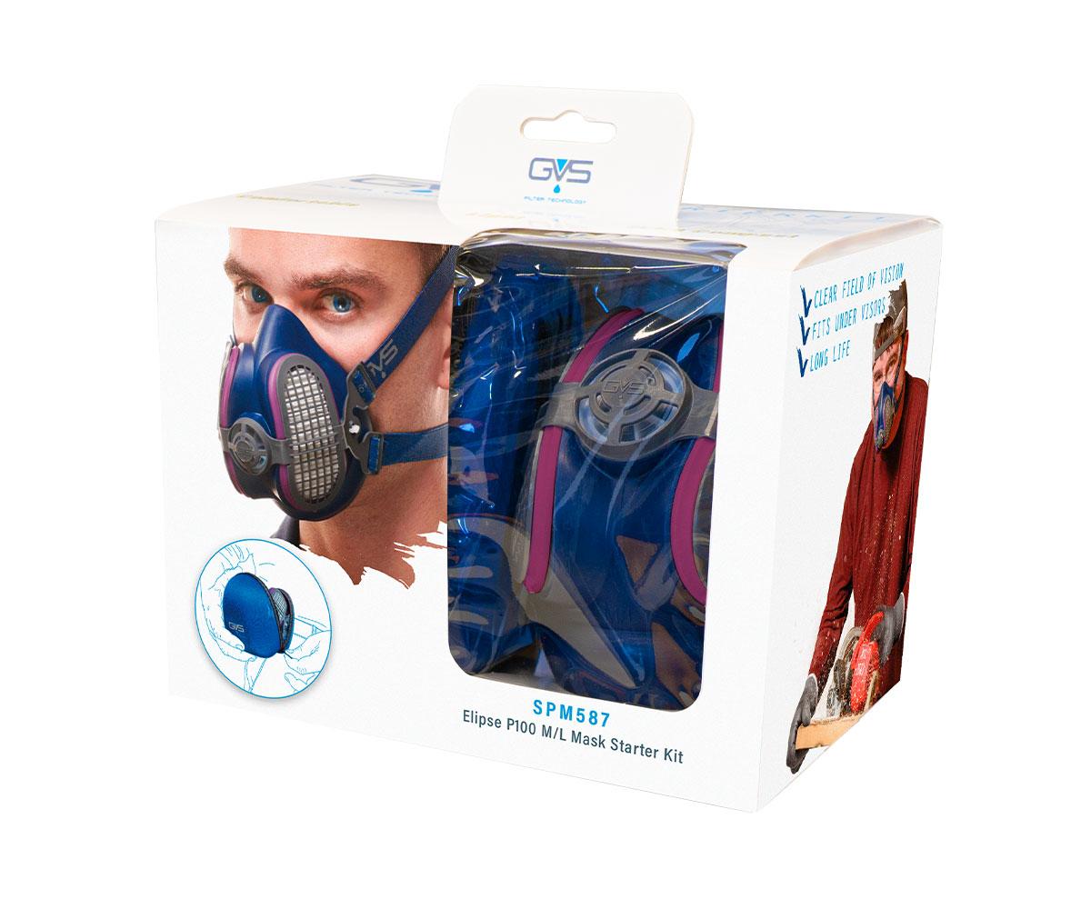 SPM587 Elipse® Maschera P100 RD Starter Kit, immagine 2