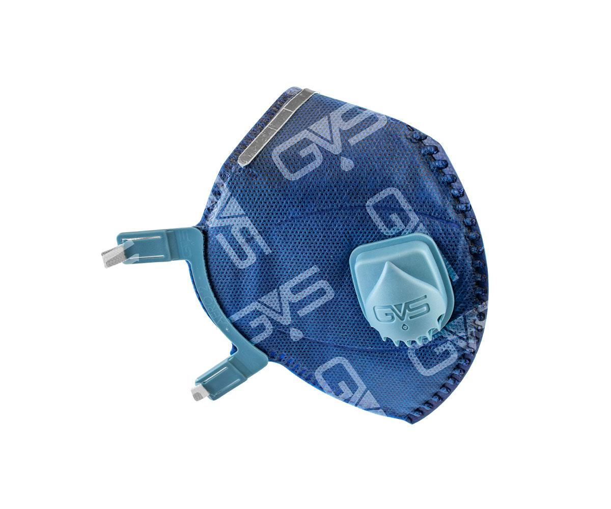 Maschera Aero 2 PFF2 con valvola - blu, immagine 2