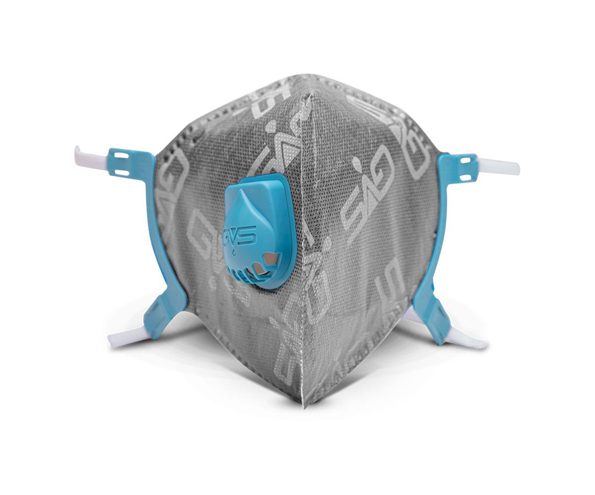 Aero 2 PFF2 CO Mask with Valve - grey, image 1