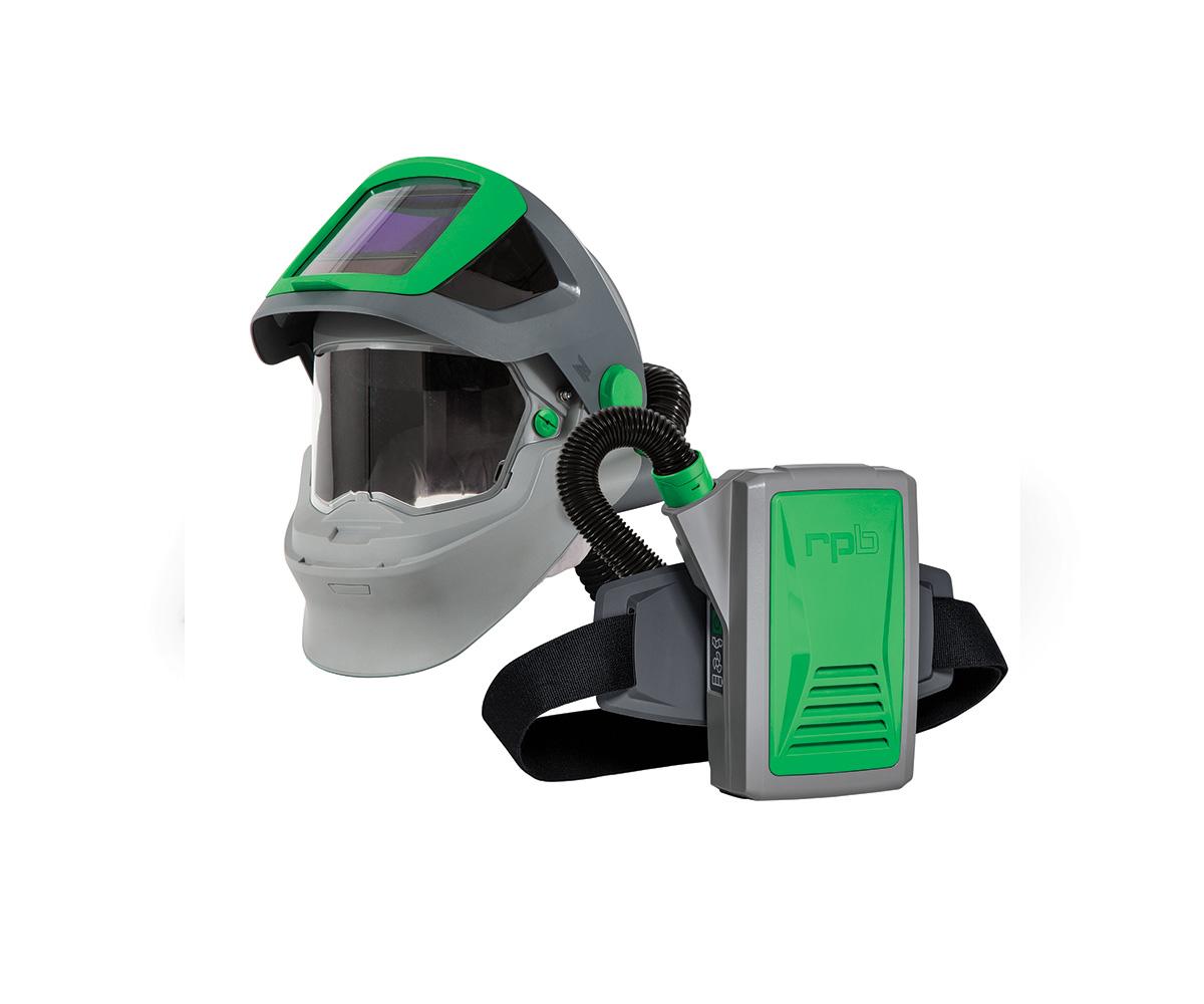 RPB Z4 Welding Respirator with PX5 PAPR, image 1