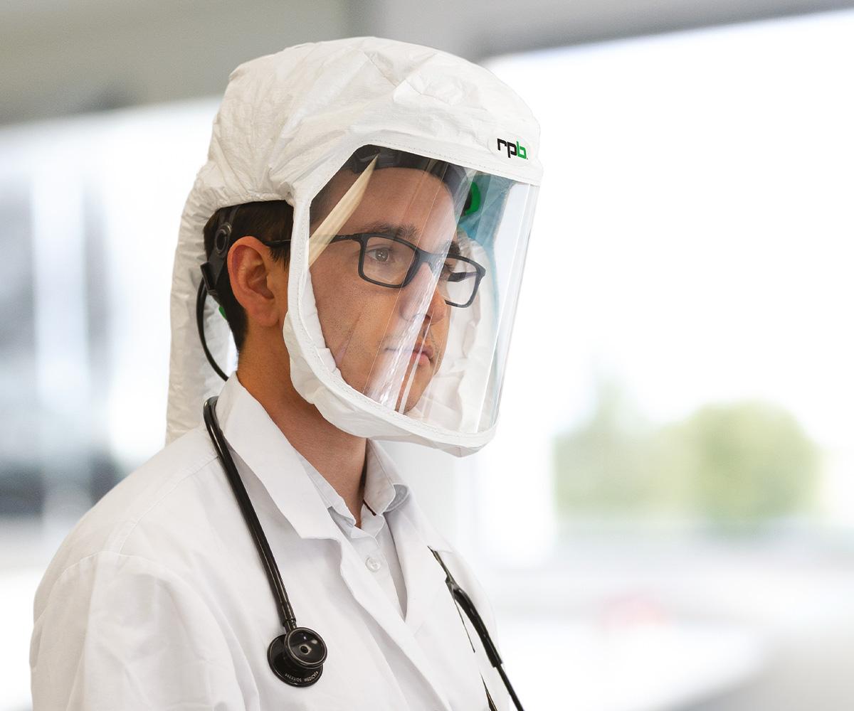 RPB T200 Respirator, Head Harness, image 3