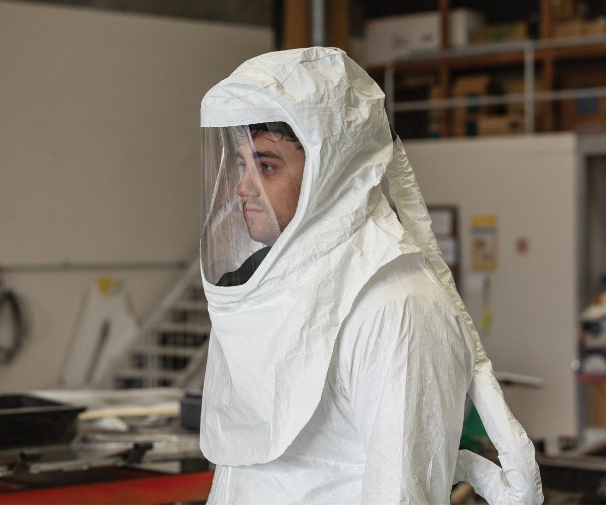RPB Respiratore T200, Full Hood Head Harness, immagine 3