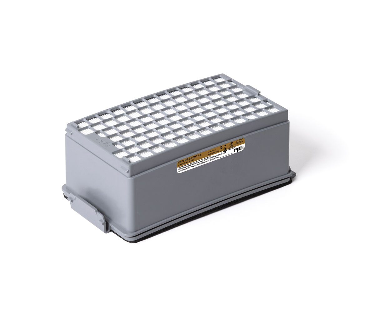 RPB PX5 Combination HEPA A2P3 Gas Filter, image 1